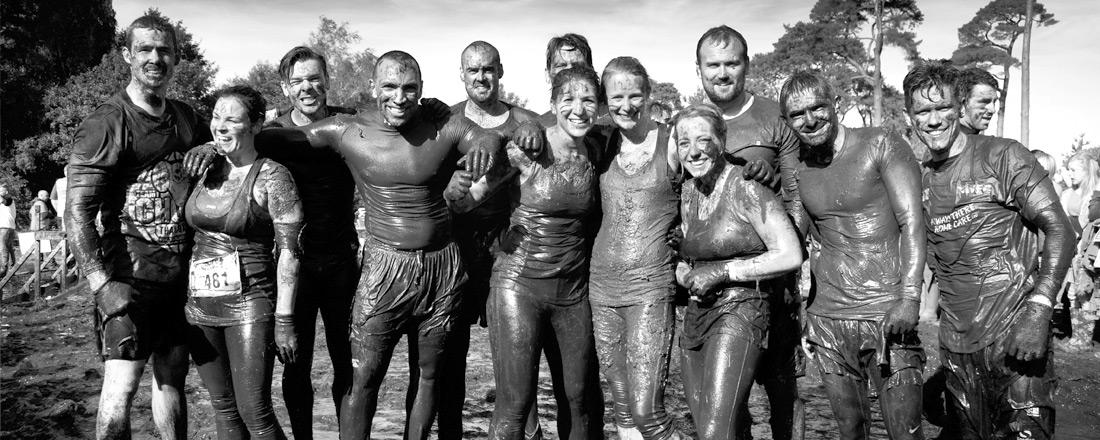 Team Chongi at Tough Mudder